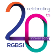 RGBSI Anniversary Logo for 20 years - large