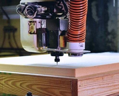 Programming CNC router for foam